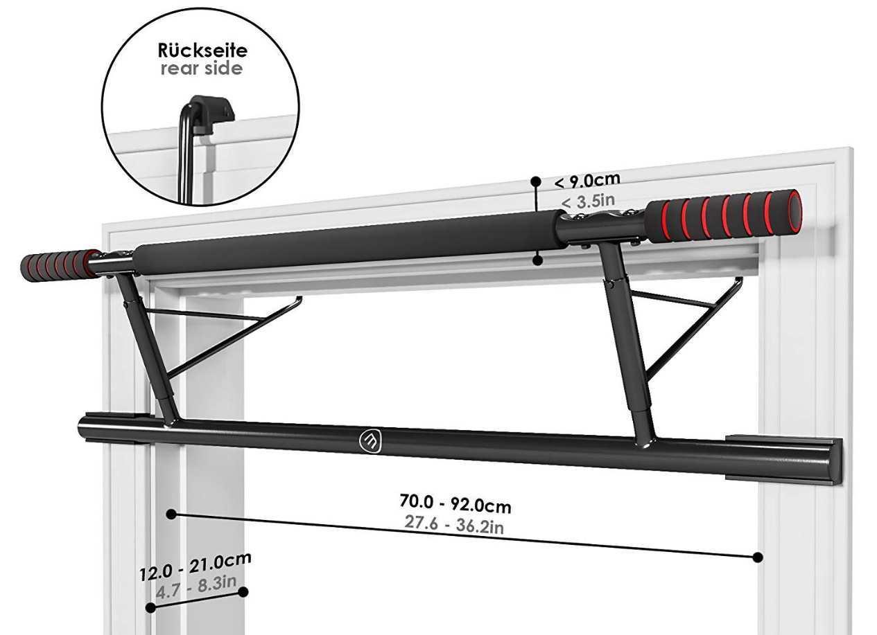 La opción más fiable y completa dentro de las barras de dominadas para marco de la puerta.