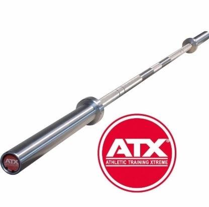 Barra profesional para pesas ATX +700kg- 220cm, cromada