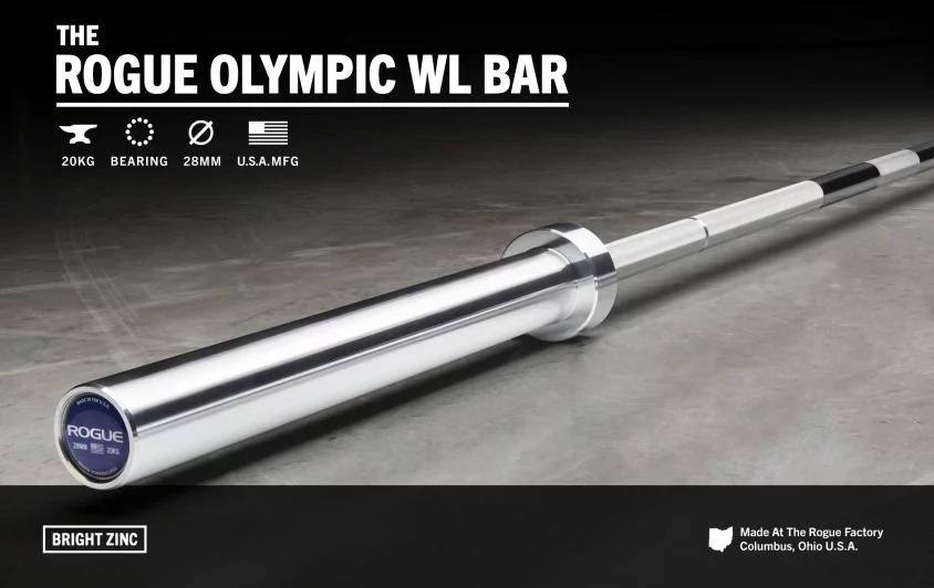 Barra Rogue Olympic WL Bar