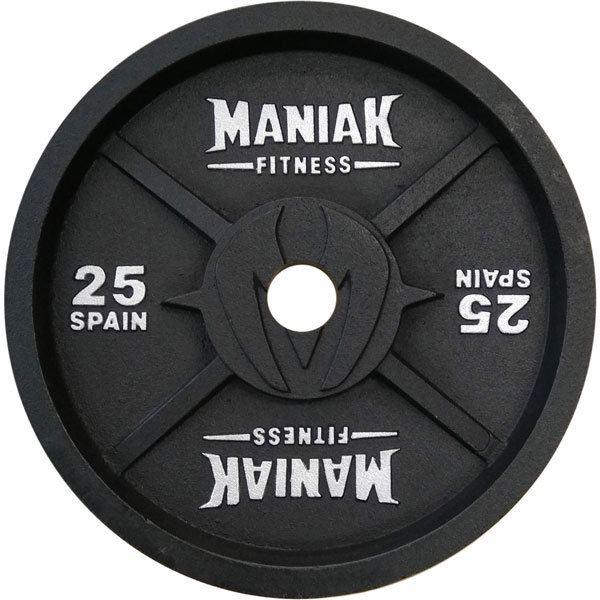 La gama RAW de Maniak los discos de hierro con mejores prestaciones del mercado