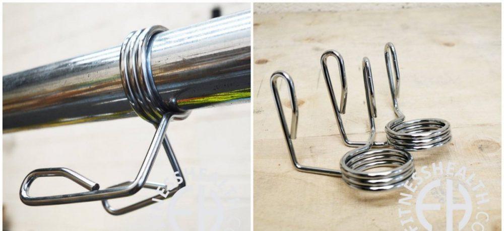 Los bloqueadores de tipo pinza son un sistema de fijación barato, pero tedioso y poco durable