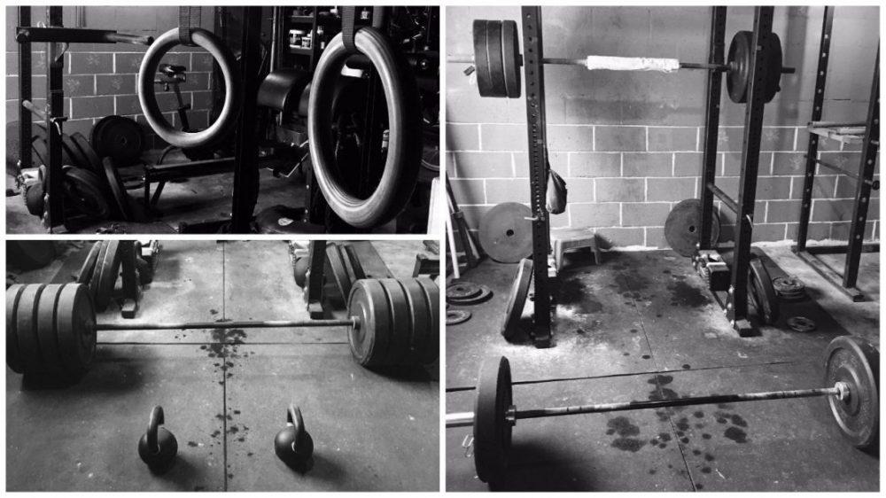 El trabajo con autocargas y peso libre es la base del entrenamiento de Jocko