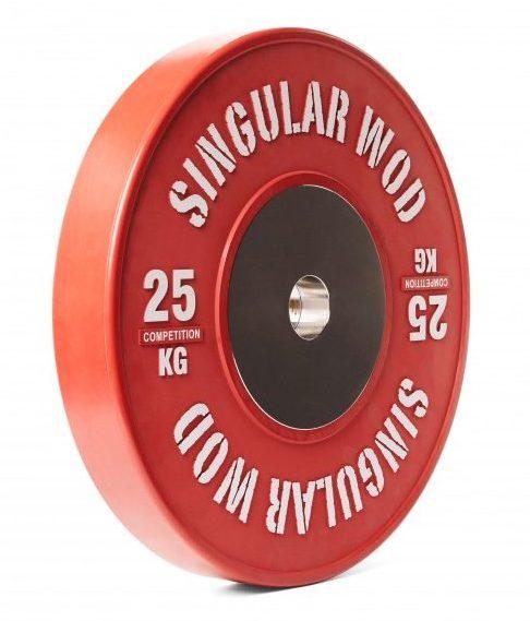 Con una interesante relación calidad-precio, los discos de halterofilia de Singular WOD son otra fantástica opción para tus entrenamientos con barra,