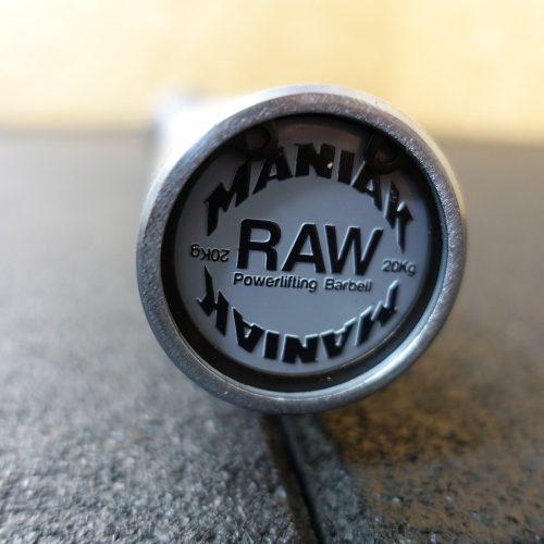Barra powerlifting 20kg RAW 29mm 900kg