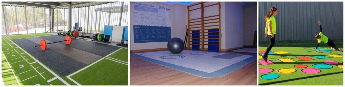 Artes amrciales, CrossFit, yoga...Pavigym dispone de pavimentos para la práctica totalidad de actividades físicas