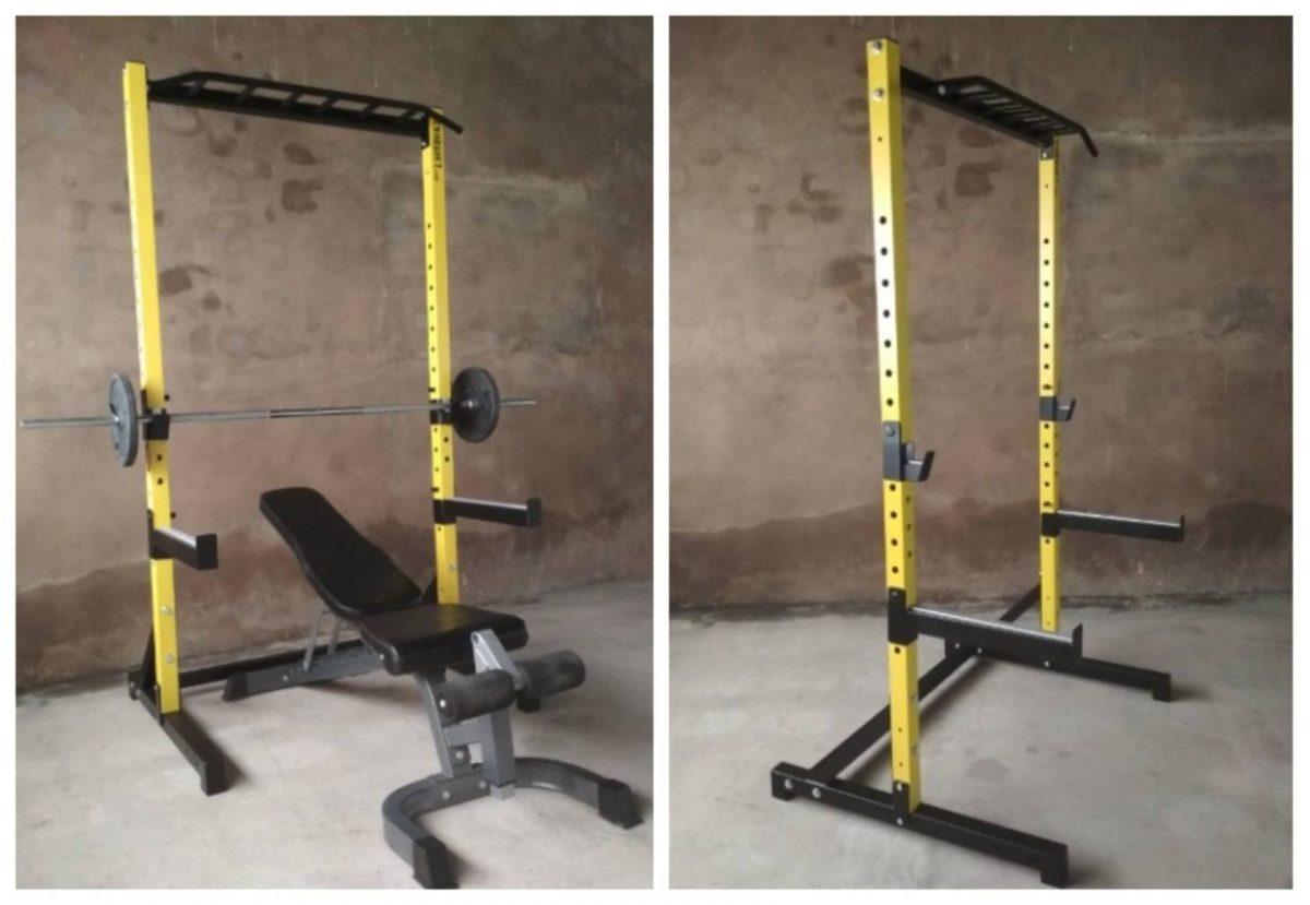 Rack de sentadillas reforzado del fabricante independiente GCWorkout