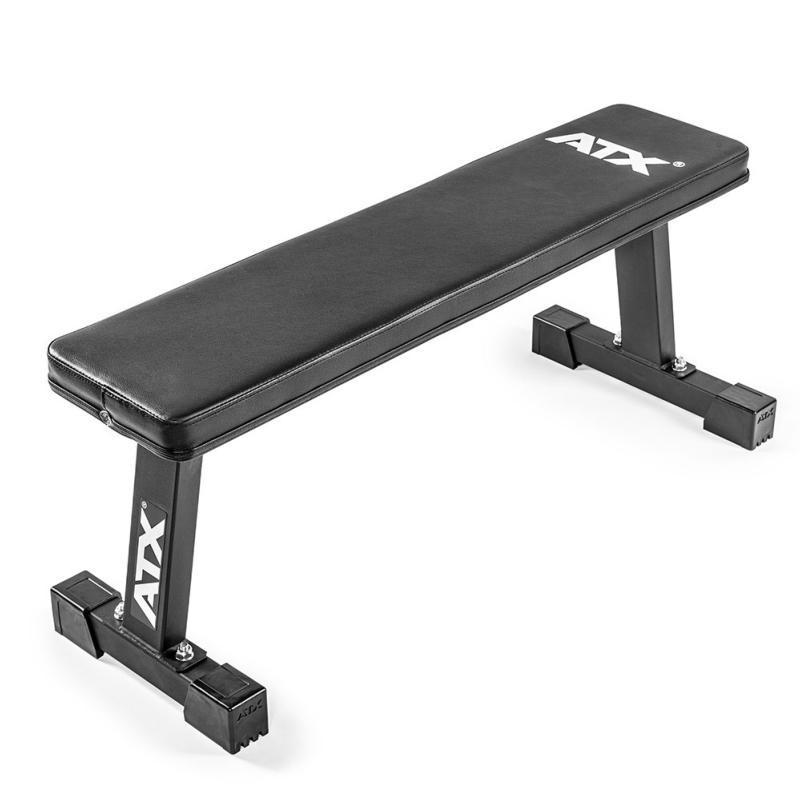 Banco de musculación ATX® Banco plano compact: fantástica relación calidad-precio