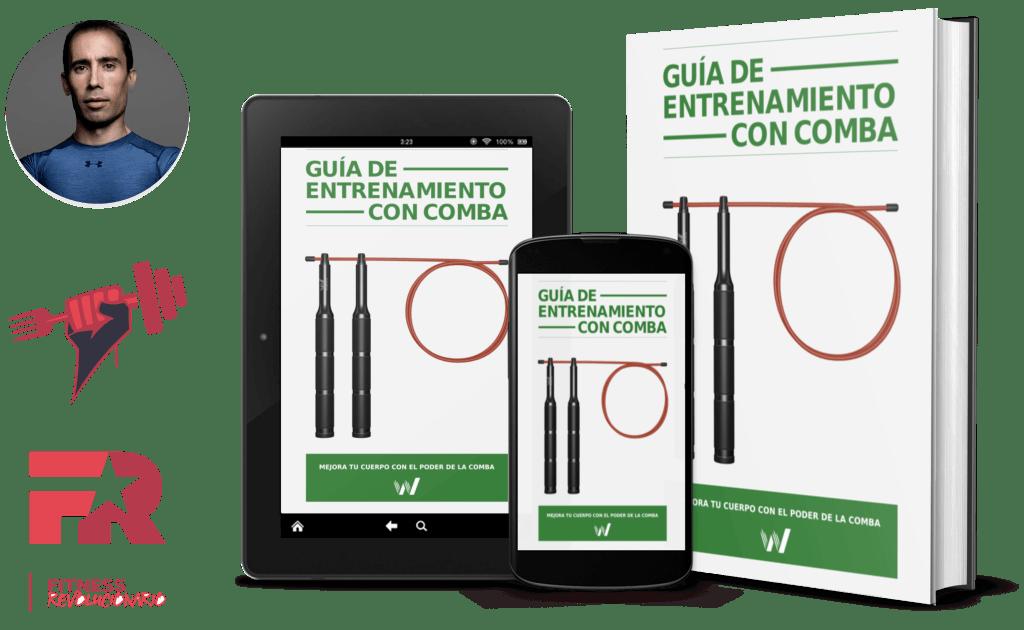 Con la compra de la comba Wind podrás llevarte gratis una completísima guía de entrenamiento con comba creada por Marcos Vázquez (Fitness Revolucionario)