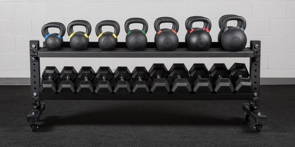 Soportes para pesas de gimnasio